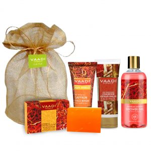 Luxurious Saffron – Skin Whitening Set (Visibly Fair Skin)
