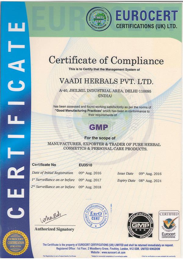 GMP-Certificate-Vaadi